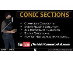 Conic Sections Class 11 Maths - Ashish Kumar Let's Learn