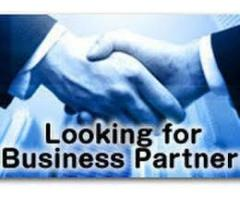 I am looking for a business partner