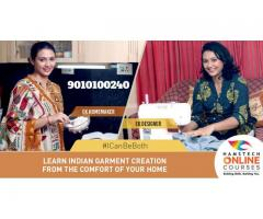 From Sarees to Lehengas, Learn Indian Garment Creation @Home