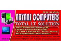 Get Laptop Repair, Computer Repair, Printer Repair, AMC Services in Delhi & NCR
