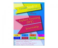 internship in coimbatore