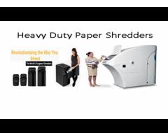 High Capacity Document Shredders