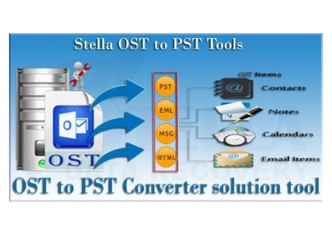 Microsoft OST to PST Recovery Software