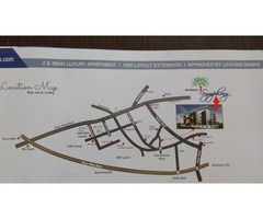 2 bhk ready to move flat in hsr layout