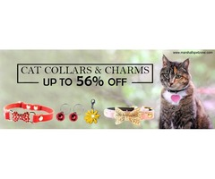 Up to 56%Off On Cat Collars & Charms.. Just For You!