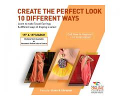 Learn 10 Ways of Draping with Hamstech Online!