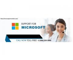 Microsoft Support Number | Call Now +1-844-229-3909