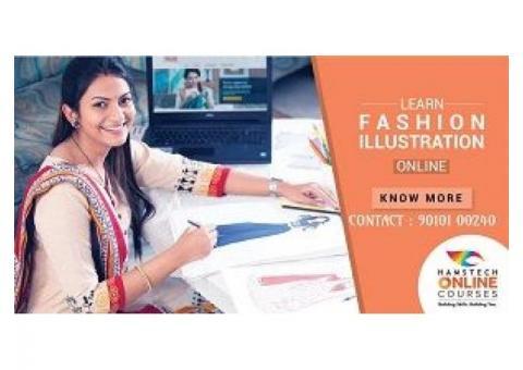 Study Basics of Fashion Illustration & More, Online!
