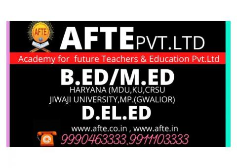 Direct admission in B.ed/M.ed