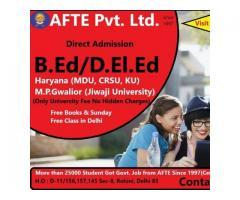 Direct Admission in B.ed , M.ed ,Jbt