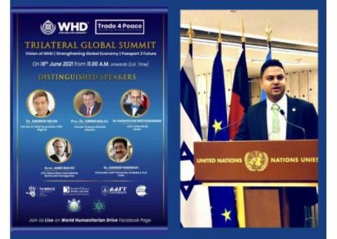 Trilateral Global Summit Announced For 16th June 2021