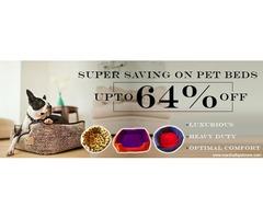 Upto 64%Off:PET BEDS:Heavy Duty, Comfort: Shop Now