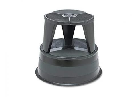 Cramer 1001-92 Kik Step Rolling Step Stool With Retractable Casters