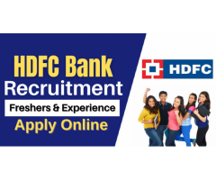 Careers at HDFC Bank 2021 | Apply Online @HDFC Bank Jobs
