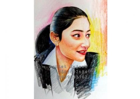 sketch artist in delhi price