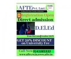 Direct Admission in teaching courses and other courses