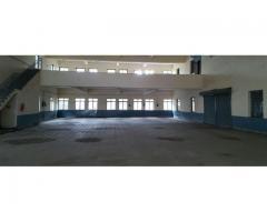 5000 sq.ft. Gala Plus Fully RCC Loft at First floor sativali Vasai.