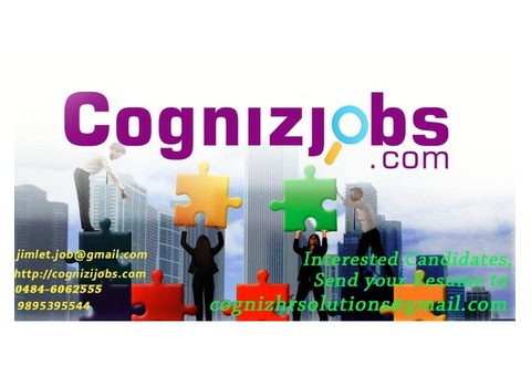 Urgently needed Candidates for Joining Immediatly