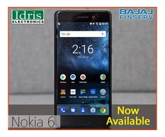 Nokia 6 Now Available Only In Idris Electronics Raipur Authorised Dealer of Nokia Mobiles