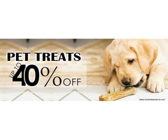 Upto 40%Off On Pet Treats: Jerhigh, Forcans & More