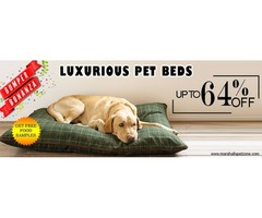Upto 64%OFF: PET BEDS + Free Samples: Look Inside