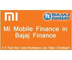 Mi Mobile Finance in Bajaj Finance in Authorised Mi Store Idris Electronics Raipur
