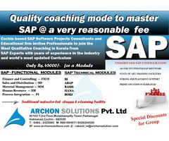 SAP Institute in Cochin by the Experts