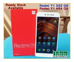 Xiaomi Redmi Y1 3/32GB and Redmi Y1 4/64GB Now Available Only In Idris Electronics Raipur