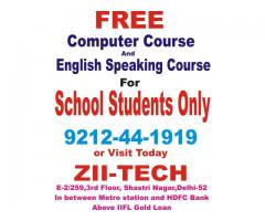 Sep 6th – Jan 4th – Free English Speaking, Typing, Internet Course with Advance Basic Delhi,shast