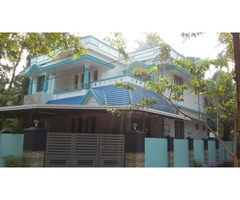 land with  house for sale in perumbodath lane near south Naluvazhi north paravur