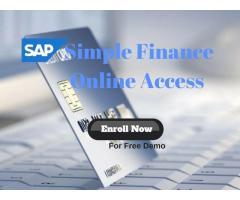 sap simple Finance online Access | sap simple finance online access hyderabad