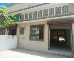 At ground floor 2500 sq.Ft useable area cidco approved unit for rent.