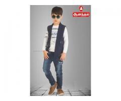 Anantham Silks in Baniyan Cloth Material boys Wear.