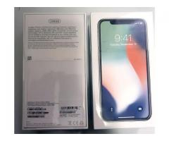 FOR SALE: Brand New Unlocked Apple iphone X  256GB     $650