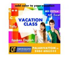VACATION COURSES FOT THE SUMMER IN KOCHI