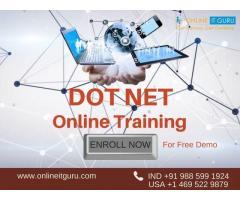 Dot Net Online Training   Enroll Now