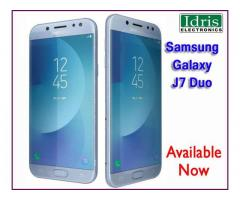 Samsung Galaxy J7 Duo Now Available In Idris Electronics Raipur Authorised Dealer of Samsung Mobiles
