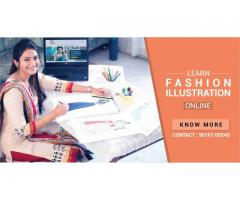 Study Fashion Illustration Class Online.Join Hamstech Online Courses!
