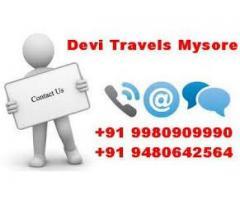 Best travels in mysore +91 9980909990  / +91 9480642564