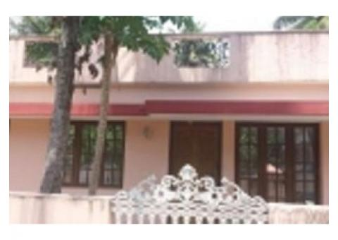 5 cents of land with 2 bhk for sale in Olanad varapuzha Ernakulam