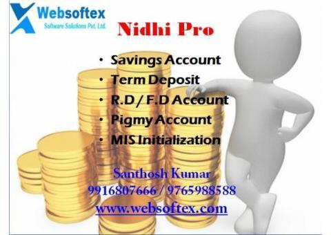 Nidhi Pro - Nidhi Company Banking Software