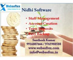 Customized Nidhi Company Software with free Mobile App