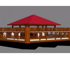 Houseboat building