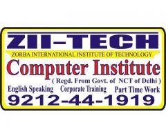 Web Designing,DTP,Graphic ds,Multimedia Computer Course in Delhi
