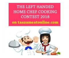 the left handed home chef cooking contest hyderabad by taazameatonline
