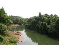 1.75 acre land with house in cheruvally near proposed airport