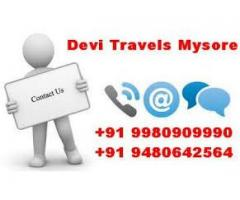 Mysore Outstation Taxi + 91 93414-53550 / +91 99014-77677