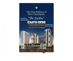 Curo one 1 Room kitchen Studio Apartments new chandigarh