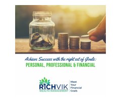 Meet your Financial Goals with Richvik Wealth Management