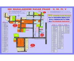 DTCP approved plots for sale in CHENGALPET
